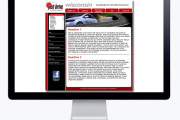 justdrive email template design & HTML coding
