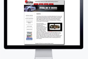 justdrive Corporate email template design & HTML coding